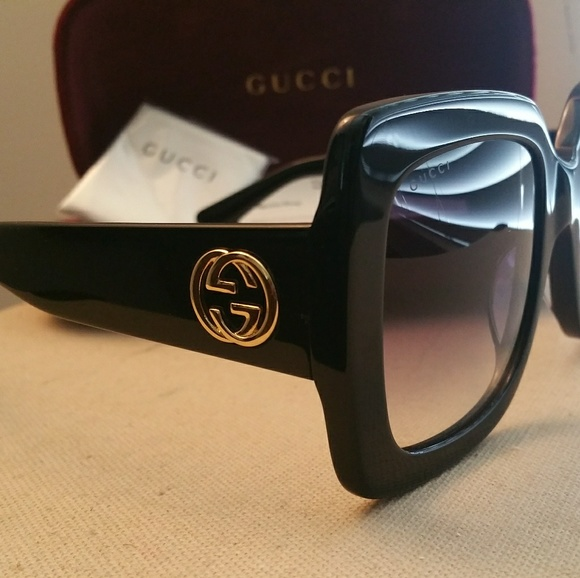 585dfac596a Gucci Accessories - 100% Women Authentic oversized Gucci Sunglasses